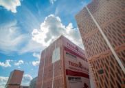 Упакованный керамический блок на складе Керамейи фото