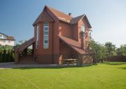 Дом из клинкерного кирпича Рубин