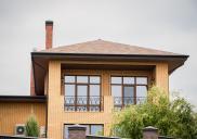 дом из кирпича КлинКерам Янтарь